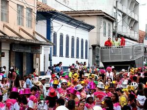 Carnaval 2017 barbacena (Foto: Prefeitura de Barbacena/Divulgação)