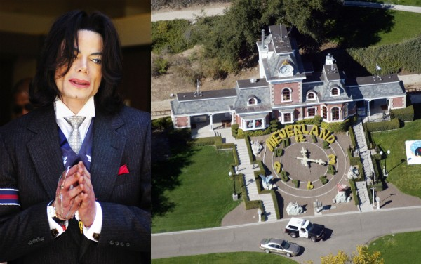 O rancho Neverland que pertenceu a Michael Jackson (1958-2009) (Foto: Getty Images)