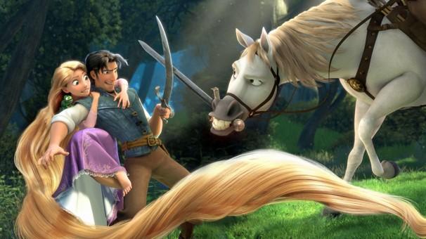 'Enrolados' é a animação da Disney que anima a garotada na véspera de Natal (Foto: Divulgação)