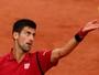 Djokovic bate britânico e segue firme na luta pelo primeiro título em Paris