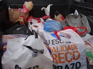 Divinópolis, doações, natal sem fronteiras (Foto: ESF/Divulgação)