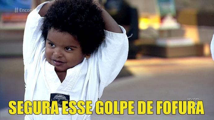 Segura! (Foto: TV Globo)