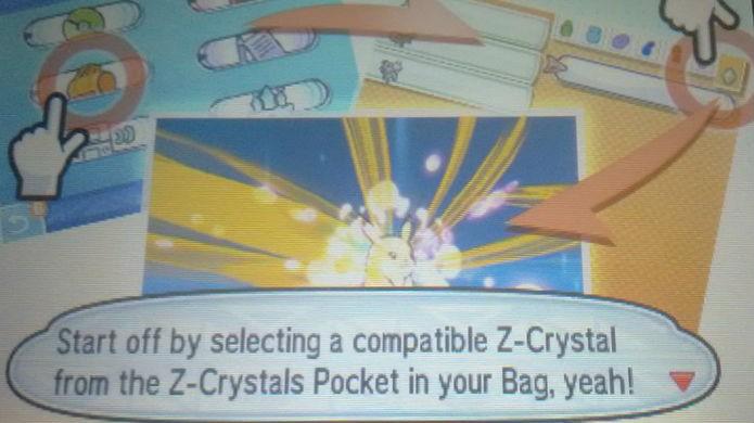 Pokémon Sun e Moon: os Z-Moves são a grande novidade do gameplay (Foto: Reprodução / Thomas Schulze)