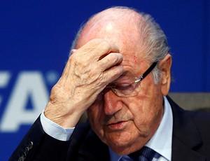Joseph Blatter renuncia à presidência da Fifa (Foto: Foto recadastrada com dimensões adequadas)