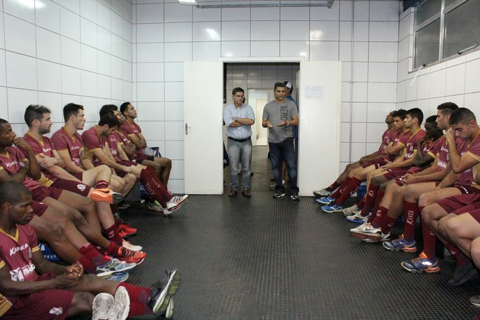 apresentação do Macaé, Marcelo Cabo (Foto: Tiago Ferreira / Macaé Esporte)