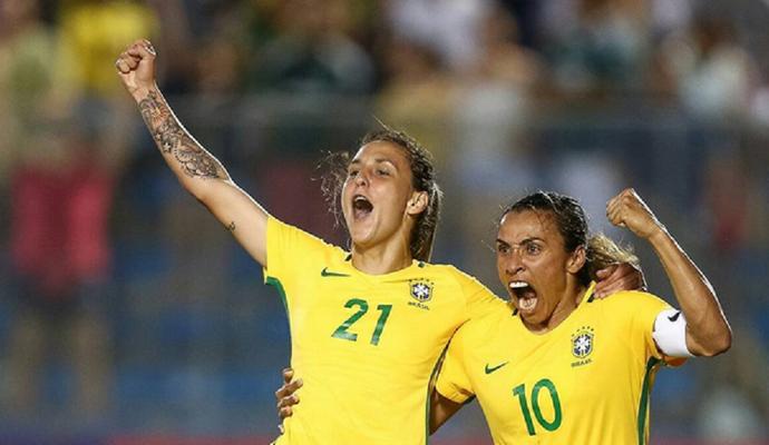 61829db865 Marta selecao feminina x australia (Foto  CBF) Seleção feminina estreia na  Olimpíada contra a China ...