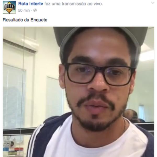 A cidade vencedora da votação foi anunciada via fanpage do programa (Foto: Divulgação)