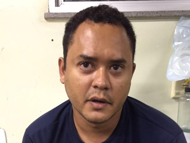 Clemilson Martins de Sousa cumpre mandado de prisão pelo homicídio do seu pai (Foto: Divulgação/Polícia Civil)