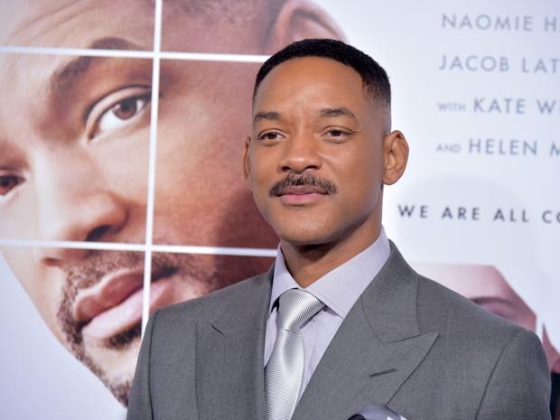 Will Smith em première de filme em Nova York, nos Estados Unidos (Foto: Theo Wargo/ Getty Images/ AFP)