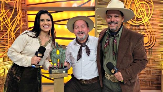 shana Müller, Neto fagundes, antônio carlos careca (Foto: Divulgação/RBS TV)