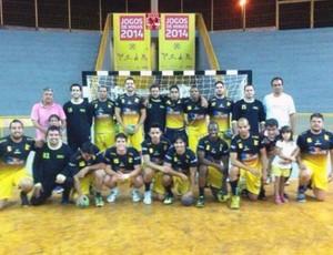handebol Uberaba preparação Liga Nacional 2015 (Foto: Leandro Manoel/ Arquivo Pessoal)