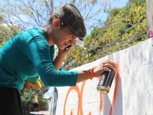 Eli Santos, de 21 anos (Foto: Juliana Barros/G1)