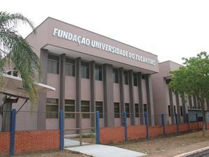 Fundação Universidade do Tocantins em Palmas (Foto: Viviane Asevedo/Ascom Unitins)