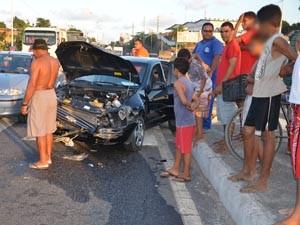 PRF informou que ninguém ficou ferido (Foto: Walter Paparazzo/G1)