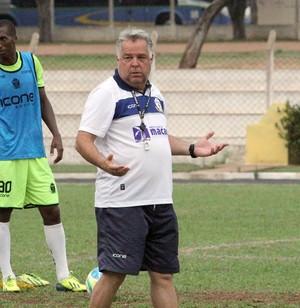 Josué Teixeira, treino do macaé (Foto: Tiago Ferreira / Divulgação)