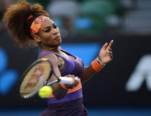 Serena Williams oitavas aberto da australia (Foto: AFP)