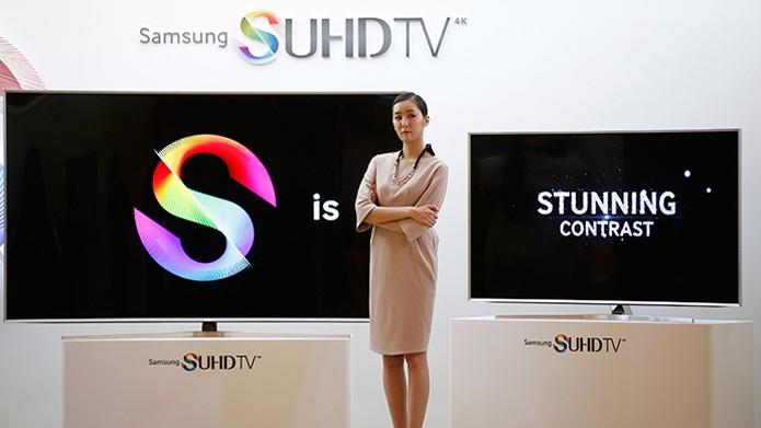 TVs da Samsung podem ser controladas por aplicativo para celular (foto: Reprodução/RT)