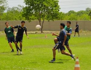 Cuiabá treina, visando o confronto com o Guarany de Sobral (Foto: Robson Boamorte/Assessoria)