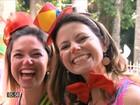 Pré-carnaval toma conta do RJ e 37 blocos lotam as ruas da cidade