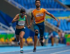 Jerusa dos Santos, paratleta, paralimpíada (Foto: Comitê Paralímpico Brasileiro / Divulgação)