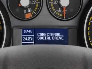 fiat social drive (Foto: Divulgação)