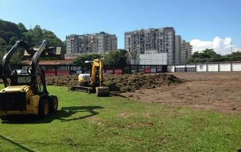 FUTEBOL - CT Botafogo (Foto: Reprodução )