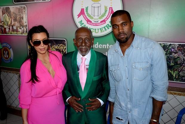 Kim Kardashian e Kanye West (Foto: Daniel Pinheiro/R2 - Divulgação)