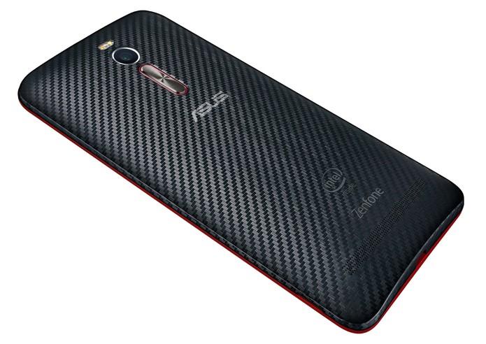 Zenfone 2 Deluxe Special Edition tem processador octa-core (Foto: Divulgação/Asus)