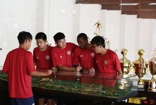 Desportivo Brasil - intercâmbio de jogadores chineses  (Foto: Raphael Zilli/ Desportivo Brasil)