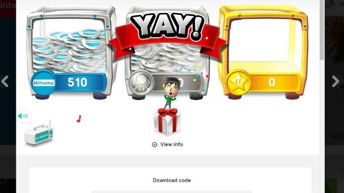 Agora é só resgatar sua recompensa mynintendo na eShop do Wii U (Foto: Reprodução/Thomas Schulze)