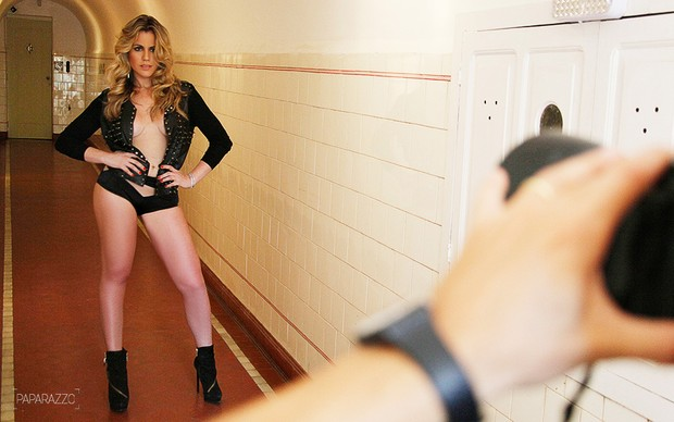 Making of Marina Mantega no Paparazzo (Foto: Alexandre Campbell / Paparazzo)