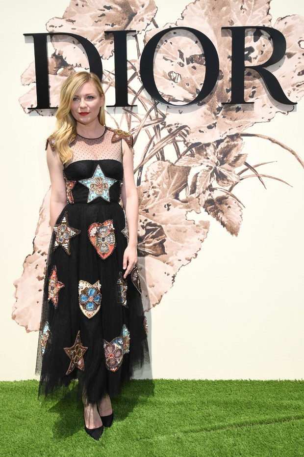 Kirsten Dunst em Paris (Foto: Getty Images)