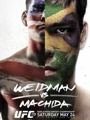 Pôster UFC 173 Chris Weidman Lyoto Machida (Foto: Reprodução/Twitter)