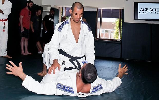 Rener Gracie e Ryron Gracie academia jiu-jitsu Estados Unidos (Foto: Getty Images)