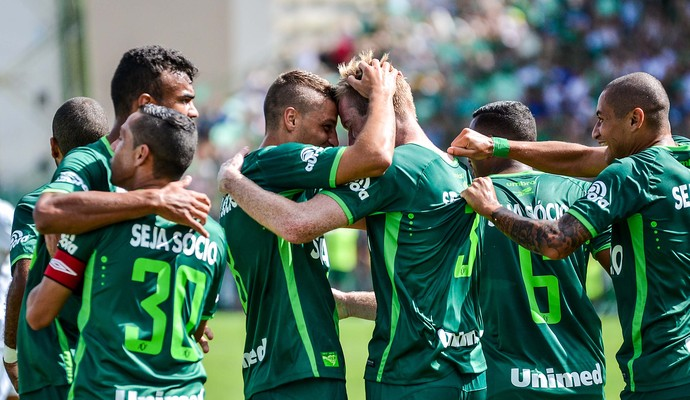 Douglas Grolli Chapecoense x Palmeiras (Foto: Futura Press)