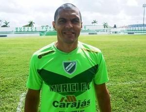 Rodrigão, zagueiro do Coruripe (Foto: Jailson Colácio/Assessoria do Murici)