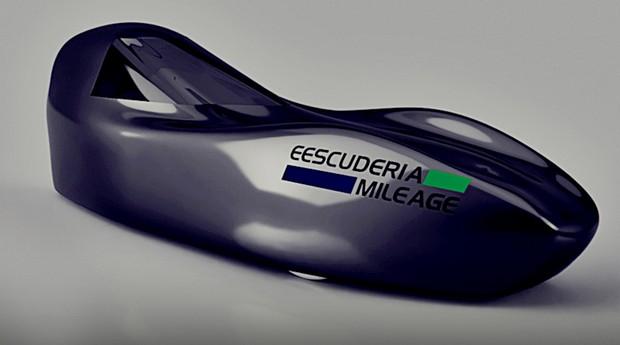 A EESCuderia Mileage preparou um modelo sucessor ao Faísca: o Venturo (Foto: Divulgação / EESC)