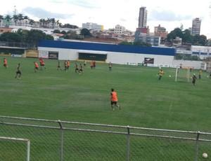 Treino Patrocinense SEP estádio Júlio Aguiar (Foto: SEP/Divulgação)