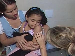Este ano, a novidade é a vacina pentavalente (Foto: Reprodução/TV Integração)