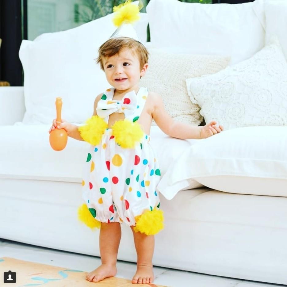 Rocco pronto para a festa (Foto: Instagram)