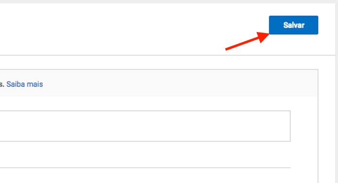 Opção para salvar a configuração de análise de comentários em um canal do YouTube (Foto: Reprodução/Marvin Costa)