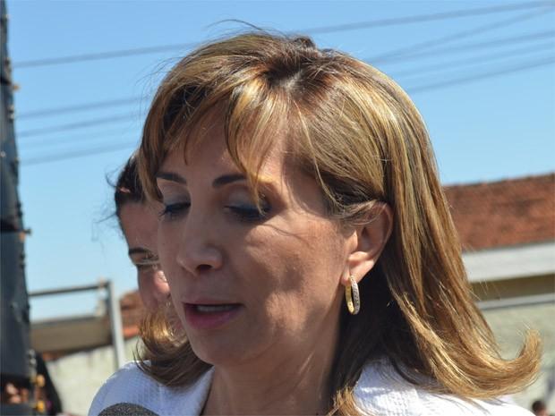 A prefeita de Ribeirão Preto, Dárcy Vera  (Foto: Rodolfo Tiengo/G1)