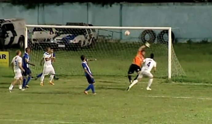 Vitória-ES venceu o São Mateus por 3 a 0, no Sernamby (Foto: Reprodução/TV Gazeta Norte)