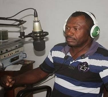 O radialista Djalma Conceição. Ele foi assassinado em Conceição da Feira, a cerca de 119 quilômetros de Salvador (BA) (Foto: Reprodução)