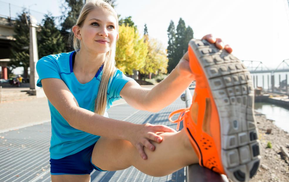 Tênis do tipo minimalista com pouco ou nenhum amortecimento não é indicado para quem está acima do peso (Foto: Getty Images)