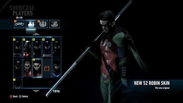 Robin dos Novos 52 no game (Foto: Reprodução/Felipe Vinha)