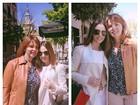 Mulher de Kaká leva a sogra para 'dia de menininha'