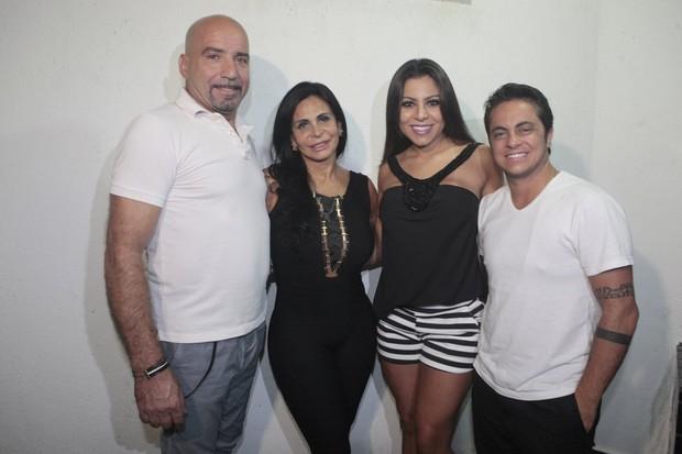 Gretchen, Thammy e Andressa Ferreira (Foto: Isac Luz/EGO)