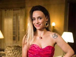 Suzana Pires como Janete (Foto: TV Globo / João Miguel Júnior)
