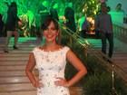 Carol Sampaio reúne famosos em festa no Hotel Copacabana Palace
